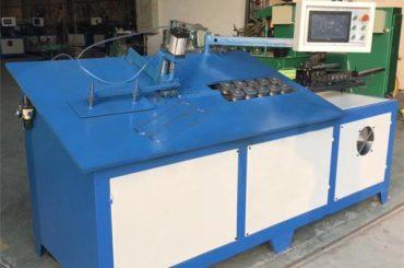 2D CNC خودکار فولاد سیم خم ماشین